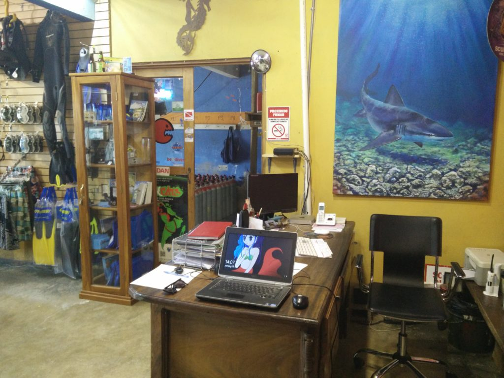 My first 2 weeks of the Dive Master Internship in Costa-Rica