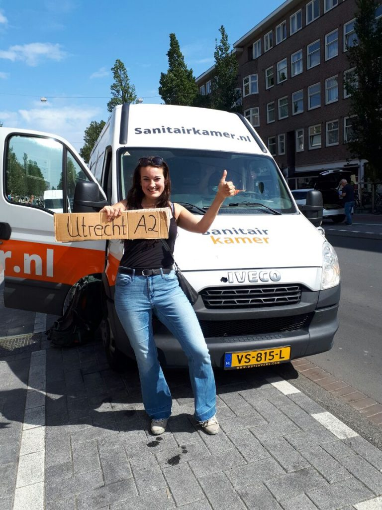 Hitch hiking Utrecht