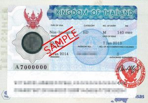 Image result for thai tourist visa