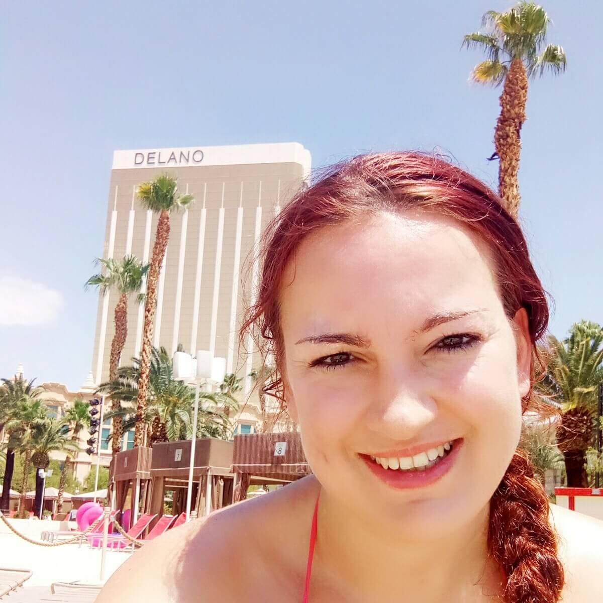 Visiting Las Vegas in the heat of summer