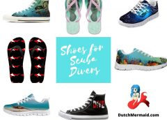9 Pair of perfect shoes for Scuba Divers