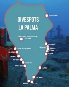 Dive Sites La Palma
